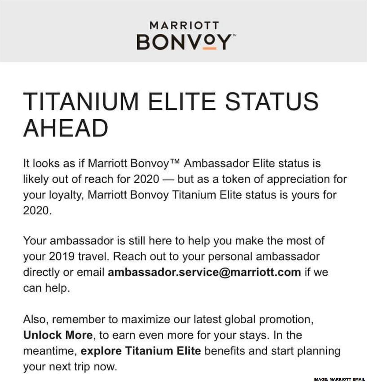 Marriott Bonvoy Ambassador Downgrades