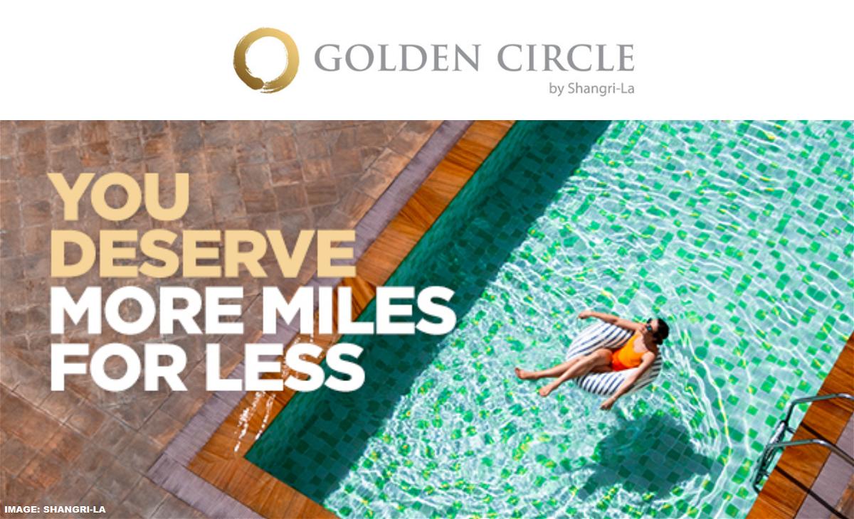 Shangri-La Golden Circle Points To Miles Conversion Bonus Fall 2019