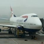 British Airways BA747