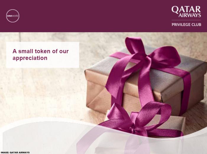 Qatar Airways Privilege Club Discount & Bonus Miles December 2019