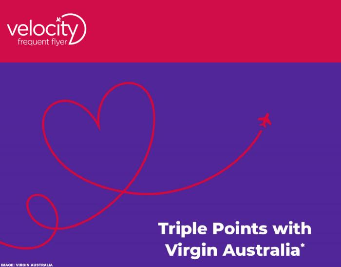 Virgin Australia Velocity Triple Points