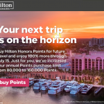 Hilton Honors Buy Points July 2020 Update