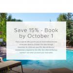 Marriott Bonvoy Fall For Travel